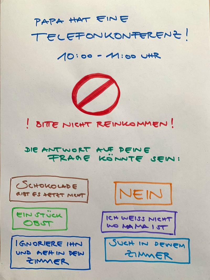 dotag-inhalt-aktives-zuhören-remote-plakat