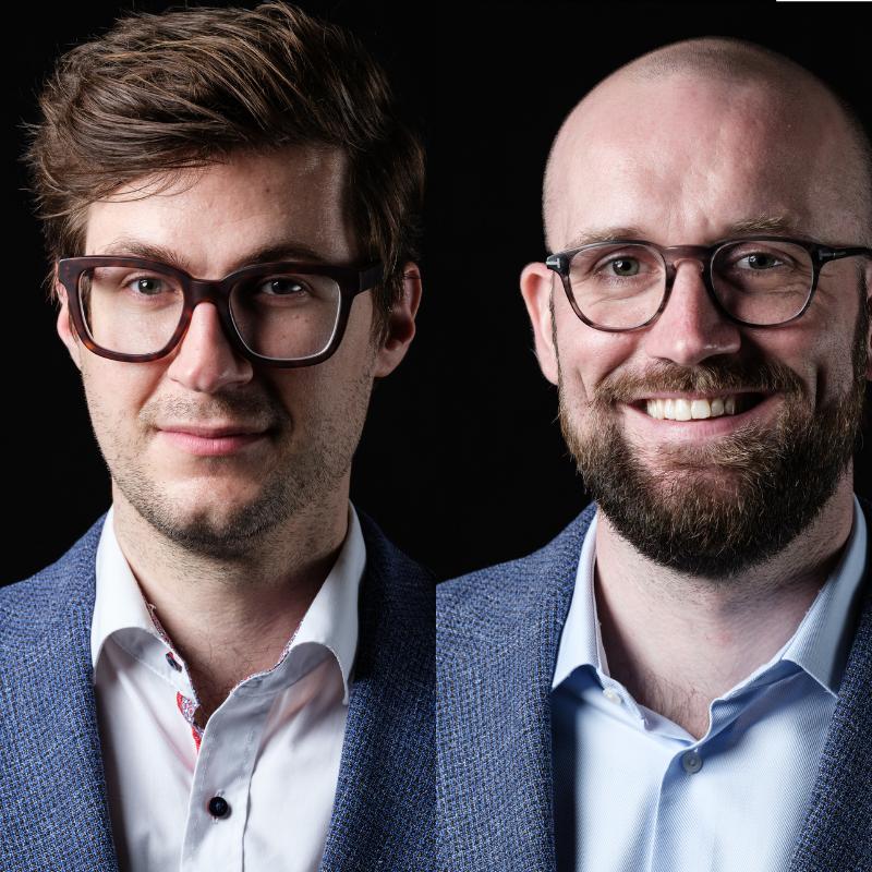 David Berger und Niklas leicht