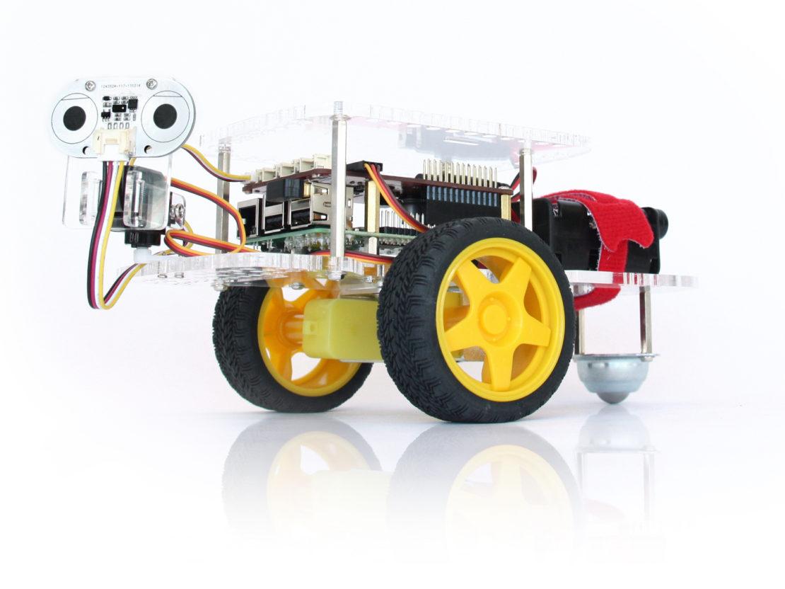 Workshop Scrum spielerisch lernen mit Dexter GoPiGo Roboter