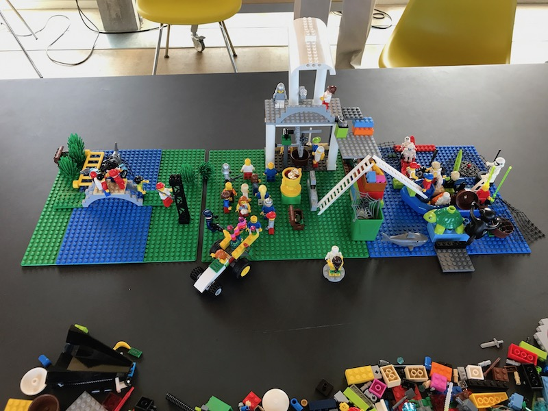 Teambuilding mit LEGO SERIOUS PLAY