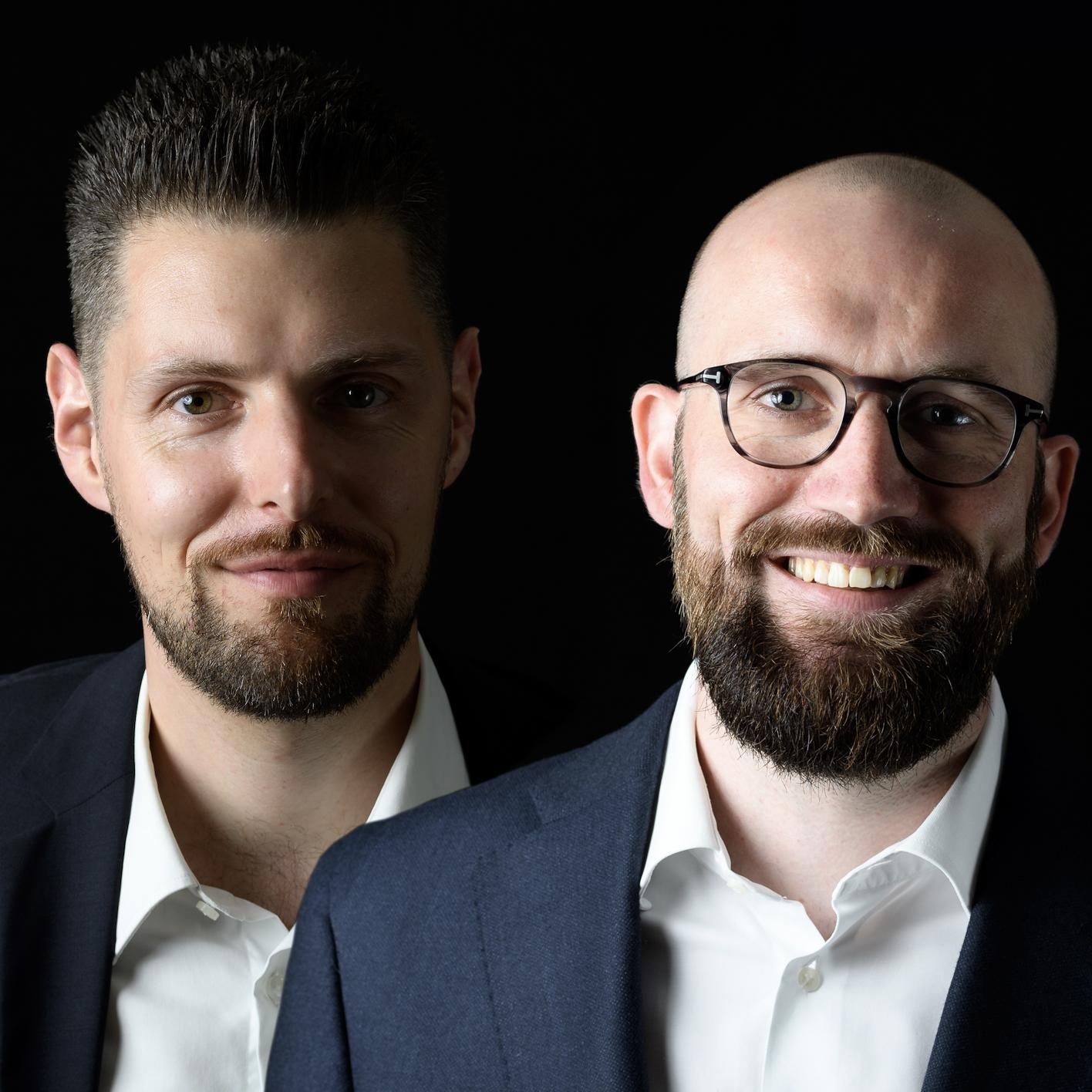 Rafael Huber und Niklas Leicht