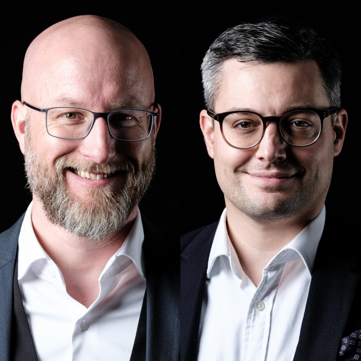 Tobias Ellenberger und Samuel Gerber